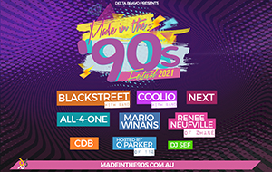 MADE IN THE 90S - This event has been POSTPONED